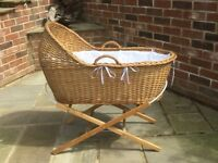 Beautiful High Quality Moses Basket