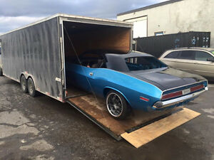 FLATBED & ENCLOSED HAULING -CARS, HAY, HOUSEHOLD