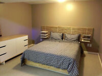 Fully Furnished 2-bdrm Basement Suite - Utilities Included