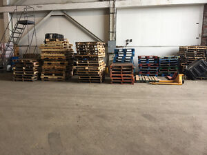 Pallets.  Need gone ASAP make an offer for all of them
