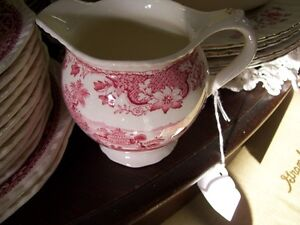 Vintage Pink Woods Seaforth Creamer