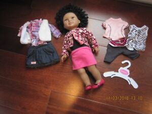 """18"""" doll and outfits"""