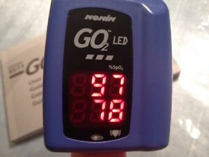 NONIN GO2 LED Oxygen Saturation Meter with Heart Beat monitor Kitchener / Waterloo Kitchener Area image 1