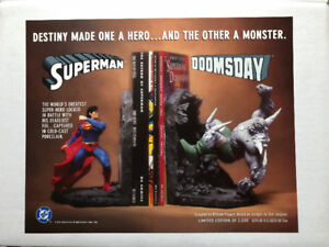 1996 Superman vs. Doomsday Bookends