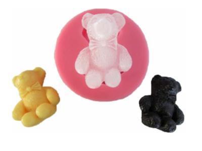 Silikonform Teddy Bär Bärchen Bear Backen Backform Tortendekor Kuchen Fondant (Teddy Bär Form)