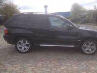 BMW X5 3.0 SPORT AUTO BLACK £2650 ovno