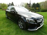 2015 Mercedes-Benz C Class 2.1 C220 CDI BlueTEC AMG Line (Premium Plus) for sale  North Baddesley, Hampshire