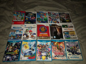 Wii and Wii U Games to Sell