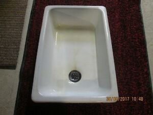 24'' X 16'' CAST IRON SINK