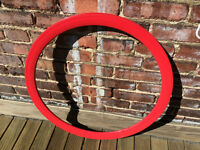 Jante rouge 700 43mm pour fixed gear