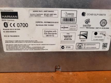 BMW 1 3 5 Series Bluetooth Combox Telematics Module 9257150