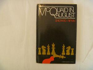 SHEPARD RIFKIN - McQuaid In August - 1979 Hardcover w/dj