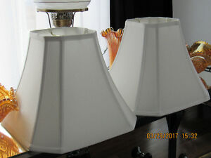 2 New Matching Lamp Shades