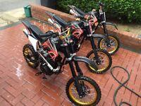 150cc Pit Bikes / Dirt bikes