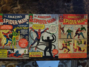 Looking to buy comic collections in the $500 to $5k range