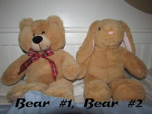 Build-A-Bears, Accessories and Heart Bed *ALL PRICES REDUCED*