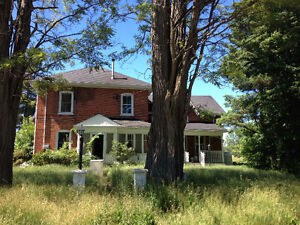 Farm house for rent, 1600 plus hydro and heating