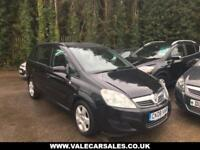 2008 08 VAUXHALL ZAFIRA 1.6 EXCLUSIV 5 DR 7 SEATER