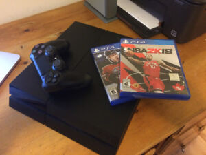 PS4 with 2 Sports Games