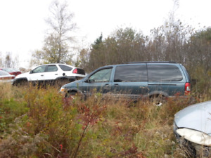 PARTING OUT 2003 PONTIAC MONTANA AND 2001 AZTEC
