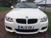 2012 12 BMW 3 SERIES 2.0 320D M SPORT 2D 181 BHP DIESEL