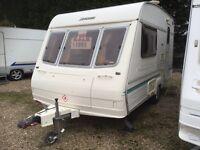 1998 2 berth Baily ranger lightweight caravan