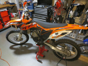 KTM 150SX 2014 (bought new in 2015)