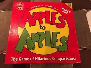 Apples to Apples Party Box boardgame West Island Greater Montréal image 1