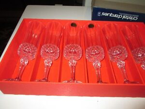 Cristal d'Arques Champaign flutes Kitchener / Waterloo Kitchener Area image 2