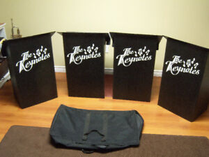Music Stands - set of 4