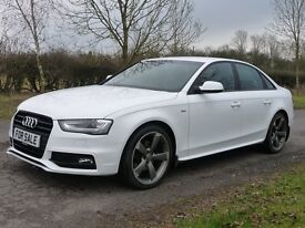 Audi A4 2.0 TDI BLACK EDITION 177PS (white) 2014