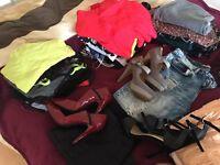 Huge women's clothes & shoe bundle