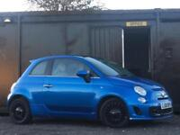 Fiat 500 1.4 LOUNGE + ABARTH REPLICA + HID XENONS + TWIN EXHAUSTS