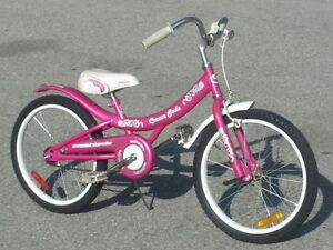 "GIRLS 20"" CREAM SODA CRUISER STYLE BIKE FIRST $75.00 TAKES IT!"