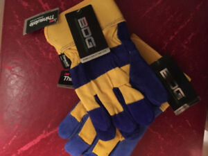 Bob Dale Fitter Gloves Thinsulate Lined