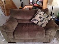 Large sofa and love seat