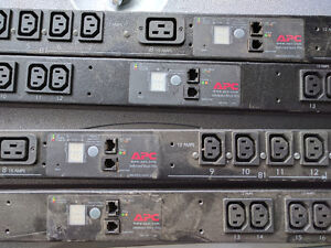 APC Metered Switched rack mount PDU`s