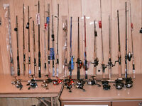 Fishing Rods/Reels - NEW starting at $15