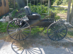 Old Order Horse Buggy For Sale