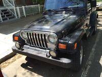 Jeep TJ 1999 et 1997