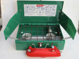 MINT Coleman 431 White Gas 2 Burner Camp Stove