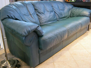Sofa  Divan 3 places cuir