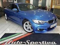 2014 BMW 4 Series 2.0 420i M Sport 2dr Petrol blue Manual