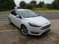 2017 Ford Focus 1.0T EcoBoost Titanium Auto (s/s) 5dr Hatchback Petrol Automatic