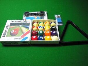 Pool Table Balls & Accesories