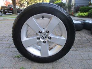 Firestone allseason tires w/ Honda rims