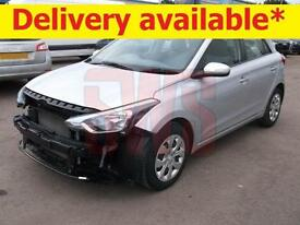 2015 Hyundai i20 1.2 S Air DAMAGED REPAIRABLE SALVAGE