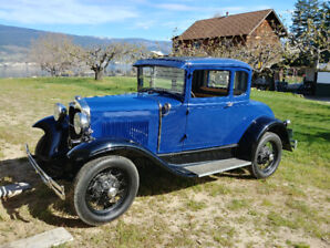 1930 Ford Model A 5 Window Rumble Seat Coupe