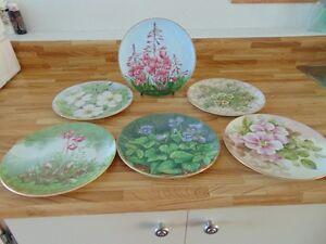 Assiettes de porcelaine en éditions limitées