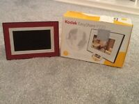 Digital photo frame nearly new condition nice to have your special pictures on slide show